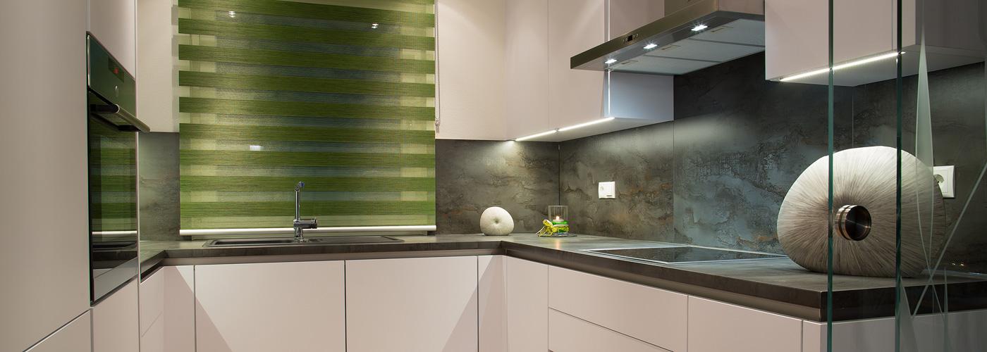 Musterwohnung Küche